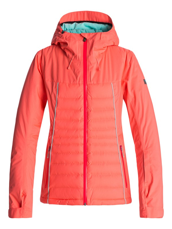 0 Tracer - Snow Jacket for Women Orange ERJTJ03106 Roxy