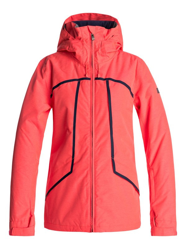 0 Wildlife - Snow Jacke Orange ERJTJ03107 Roxy