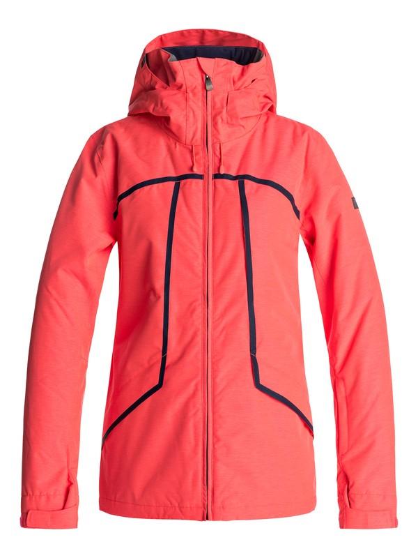 0 Wildlife - Snow Jacke für Frauen Orange ERJTJ03107 Roxy