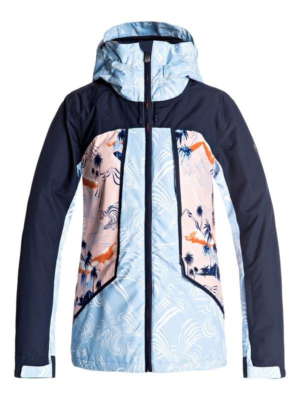 0 Wildlife - Snow Jacket for Women Orange ERJTJ03107 Roxy