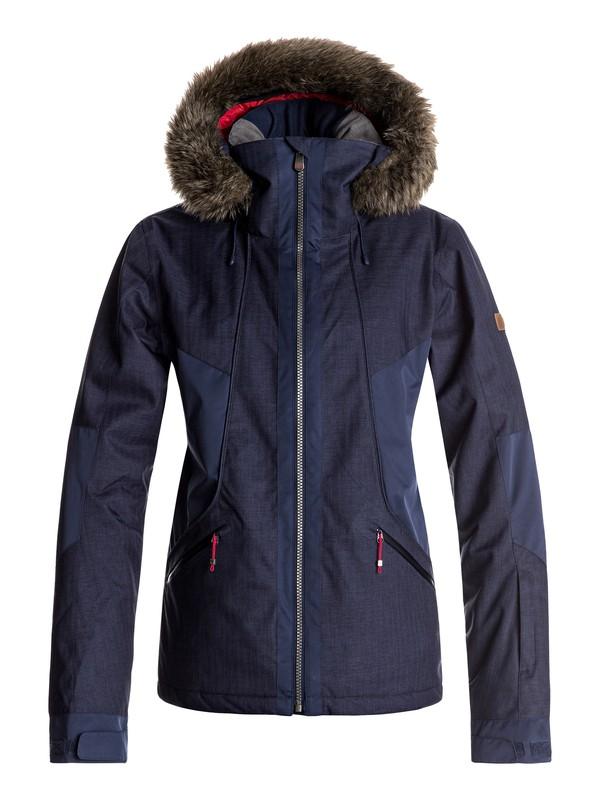 0 Atmosphere - Snow Jacket for Women Blue ERJTJ03108 Roxy