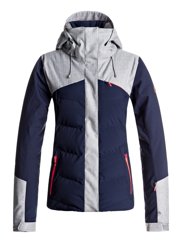 0 Flicker - Snow Jacket for Women Blue ERJTJ03109 Roxy