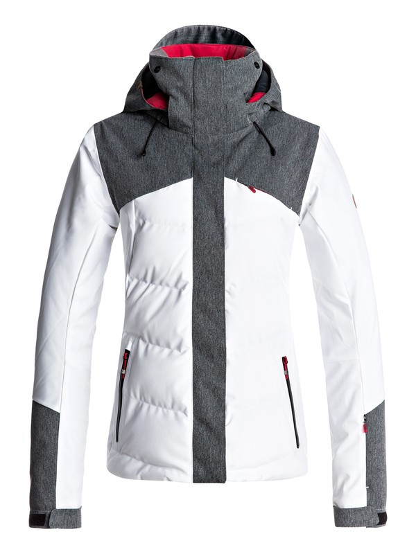 0 Flicker - Veste de snow Blanc ERJTJ03109 Roxy