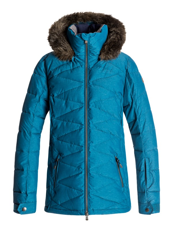 0 Quinn - Snow Jacket for Women Blue ERJTJ03111 Roxy