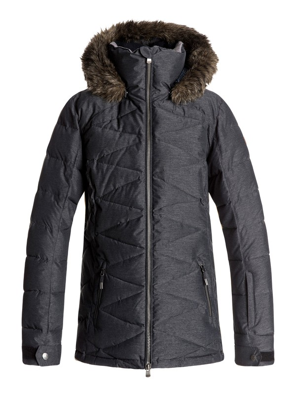 0 Quinn - Snow Jacket for Women Black ERJTJ03111 Roxy