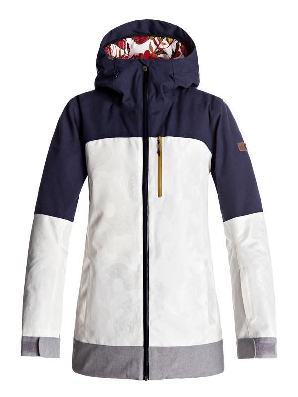0 Torah Bright Stormfall - Snow Jacket for Women White ERJTJ03112 Roxy