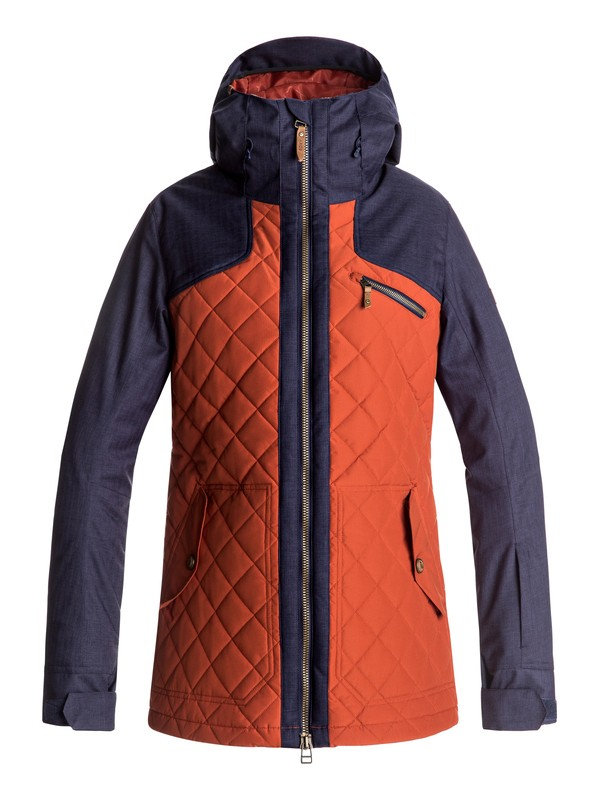 0 Journey - Snow Jacket for Women Red ERJTJ03115 Roxy