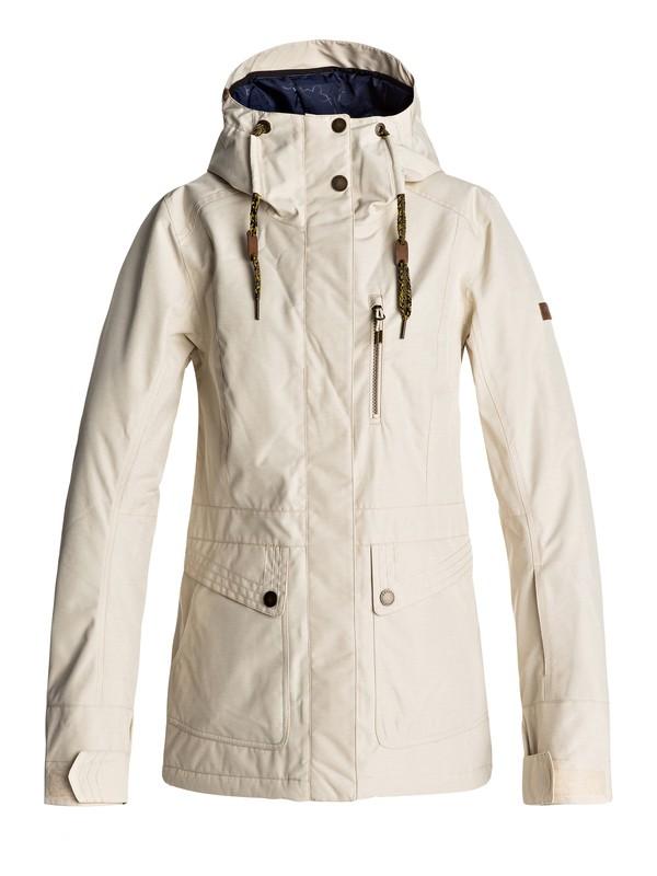 0 Andie - Snow Jacket for Women Beige ERJTJ03116 Roxy