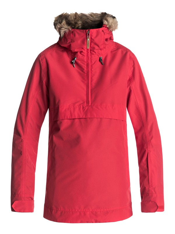 0 Shelter - Snow Jacket for Women Red ERJTJ03119 Roxy