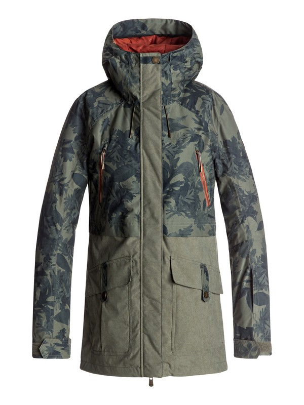 0 Tribe - Snow Jacket  ERJTJ03120 Roxy