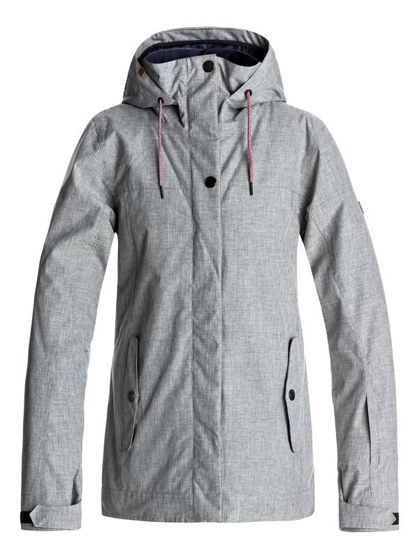 0 Billie - Snow Jacket for Women Grey ERJTJ03121 Roxy