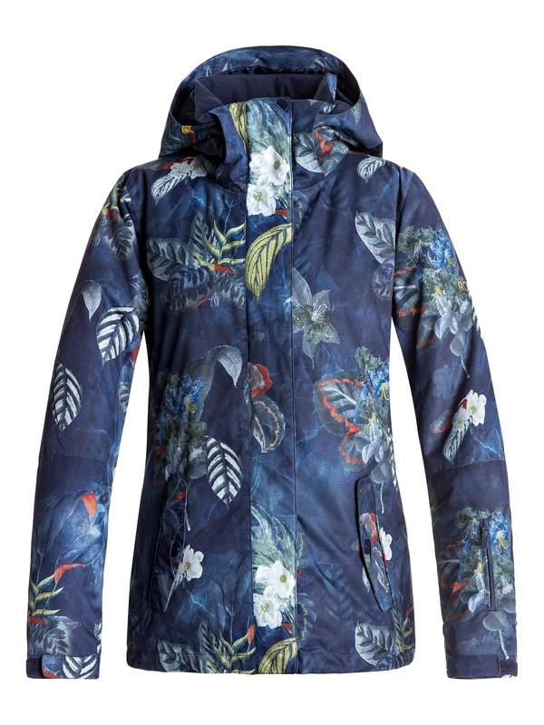 0 ROXY Jetty - Snow Jacket for Women Blue ERJTJ03125 Roxy