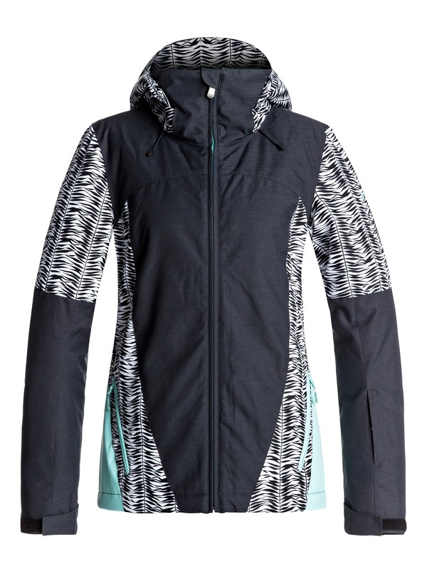 0 Sassy - Snow Jacket for Women Black ERJTJ03126 Roxy