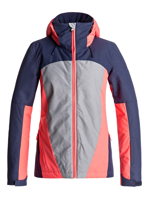 0 Sassy - Snow Jacket for Women Grey ERJTJ03126 Roxy