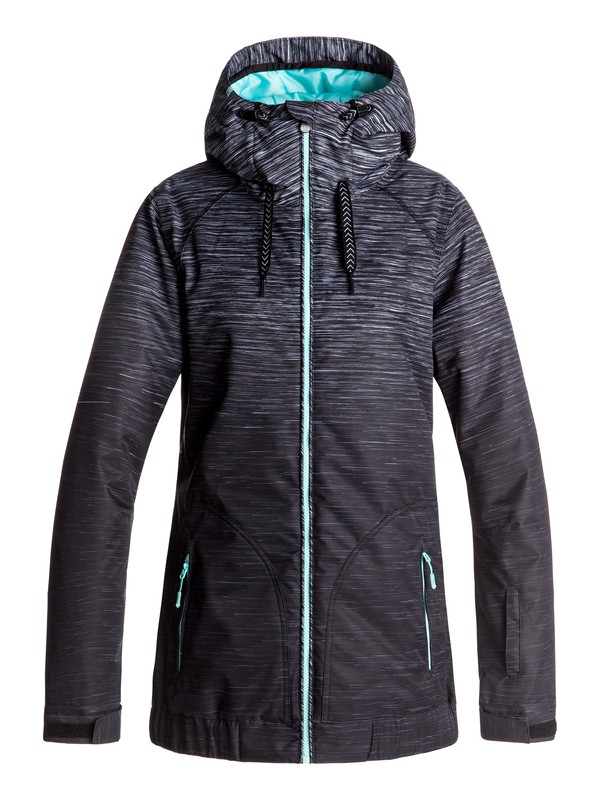 0 Valley - Snow Jacket for Women Black ERJTJ03127 Roxy