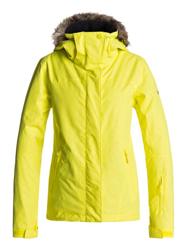 0 Jet Ski - Snow Jacket for Women Yellow ERJTJ03131 Roxy