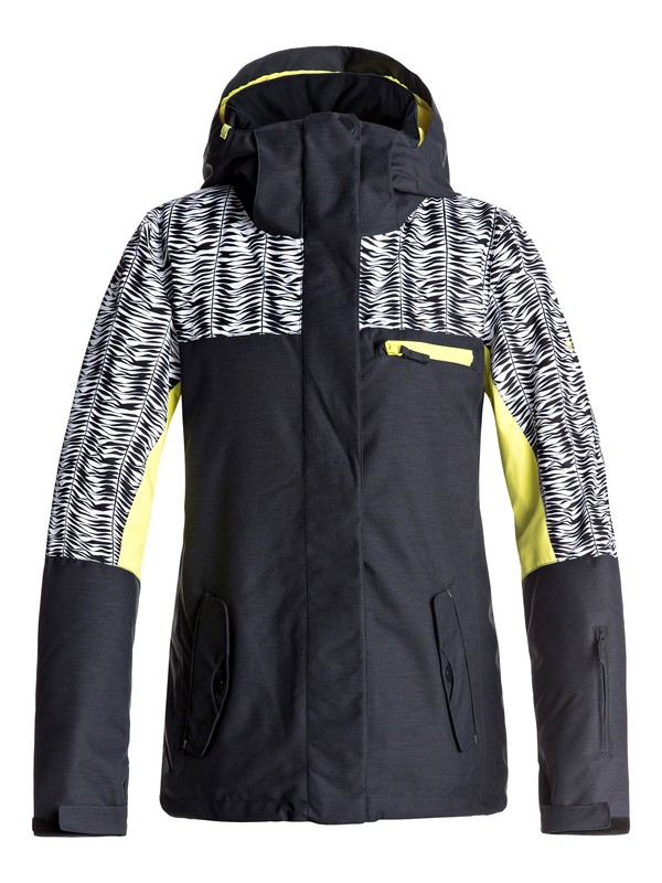 0 ROXY Jetty - Snow Jacket for Women Black ERJTJ03132 Roxy