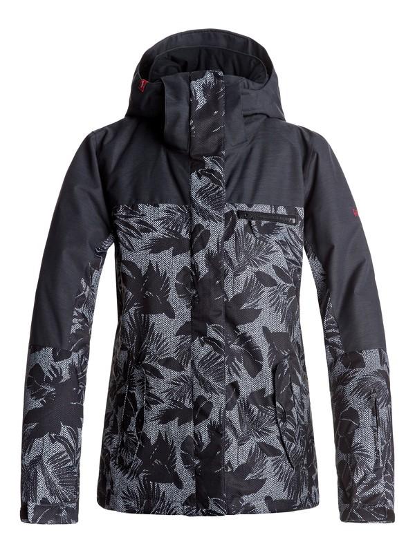 0 ROXY Jetty - Snow Jacket for Women Black ERJTJ03132 Roxy