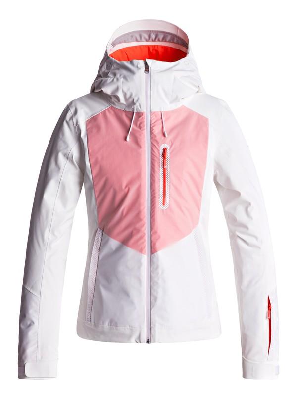0 ROXY Premiere - Snow Jacket for Women White ERJTJ03140 Roxy
