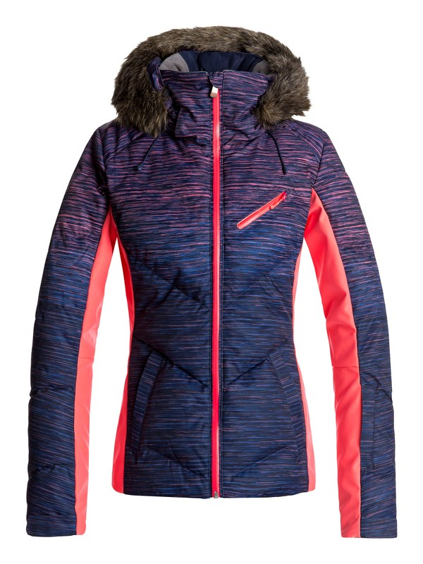 0 Snowstorm - Snow Jacket for Women Orange ERJTJ03141 Roxy