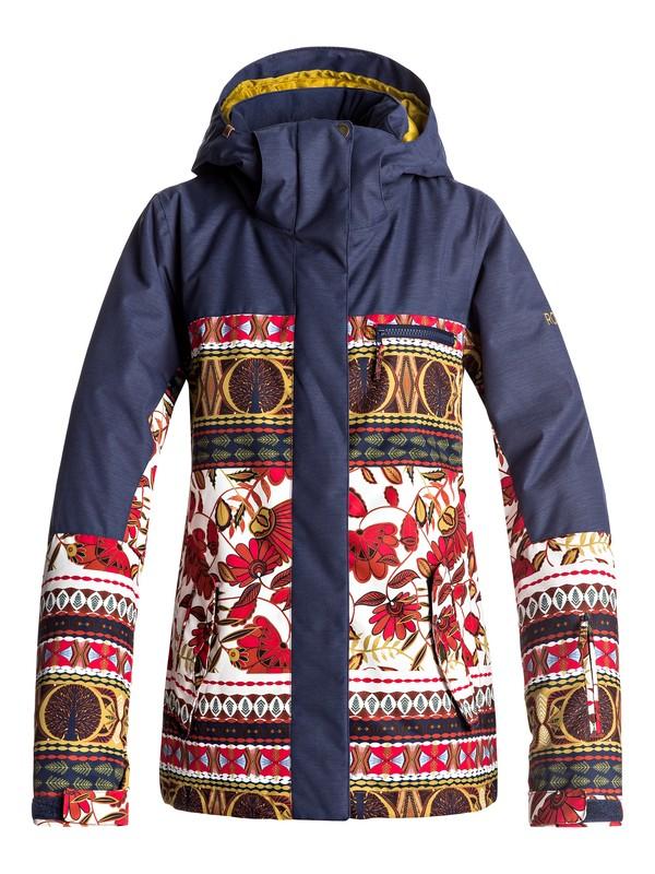 0 Torah Bright ROXY Jetty - Snow Jacket  ERJTJ03144 Roxy