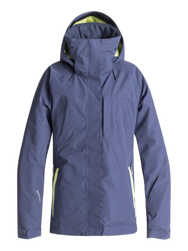 0 Wilder 2L Gore-Tex Snow Jacket Blue ERJTJ03153 Roxy