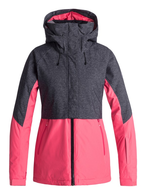 0 Frozen Flow Snow Jacket Pink ERJTJ03155 Roxy