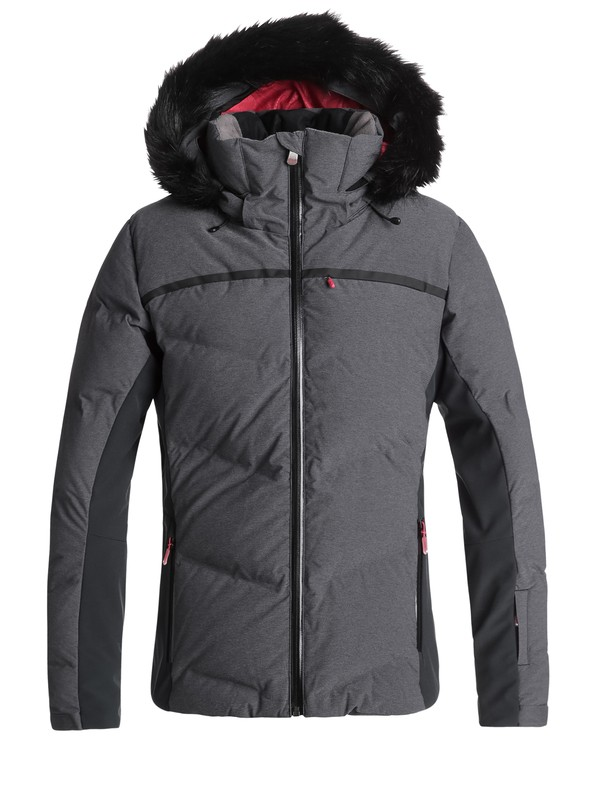 0 Snowstorm Snow Jacket Black ERJTJ03156 Roxy