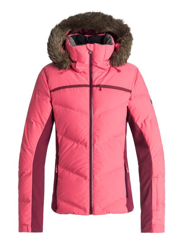 0 Snowstorm - Veste de snow matelassée pour Femme Rose ERJTJ03156 Roxy