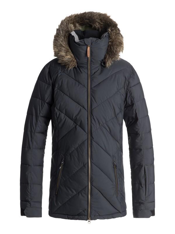 0 Quinn - Veste de snow matelassée pour Femme Noir ERJTJ03165 Roxy
