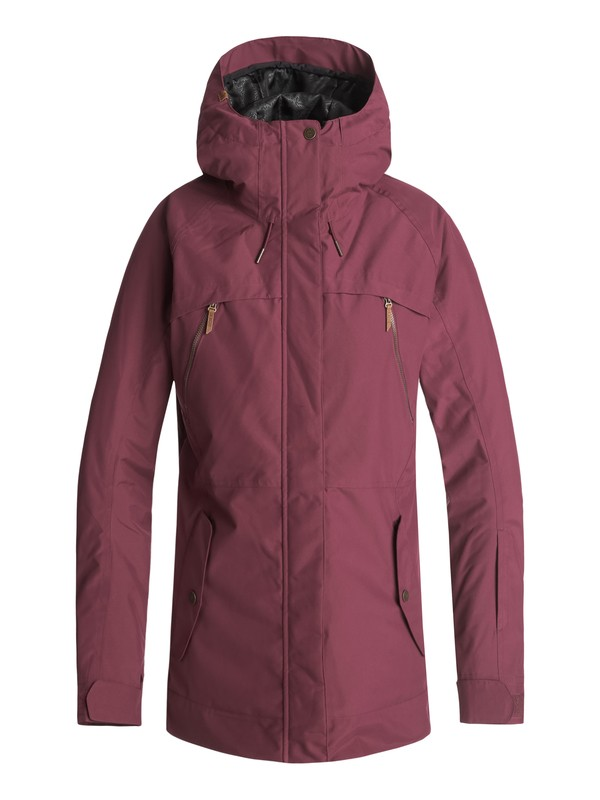 0 Tribe Snow Jacket Red ERJTJ03166 Roxy