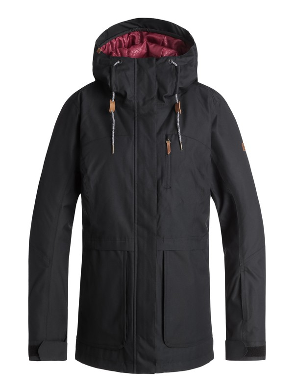 0 Andie Snow Jacket Black ERJTJ03168 Roxy