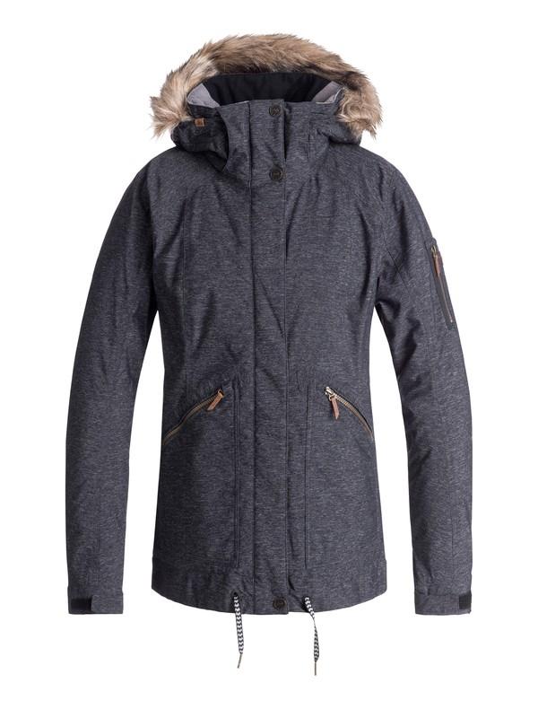 0 Meade - Veste de snow pour Femme Noir ERJTJ03172 Roxy