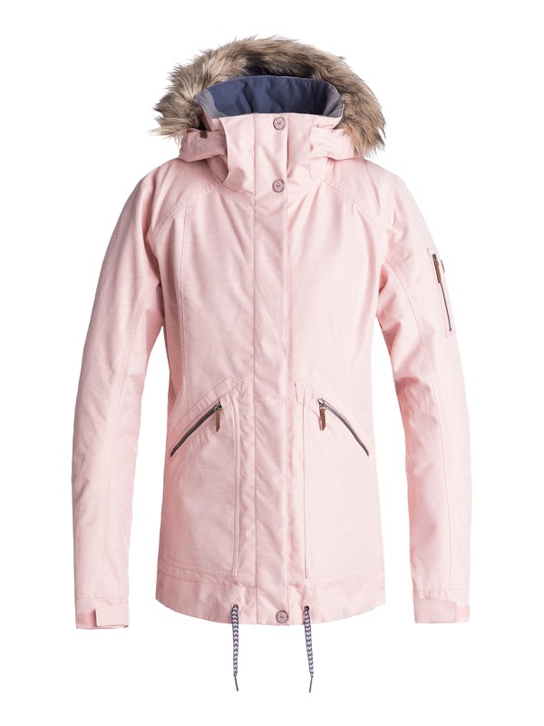 0 Meade Snow Jacket Pink ERJTJ03172 Roxy