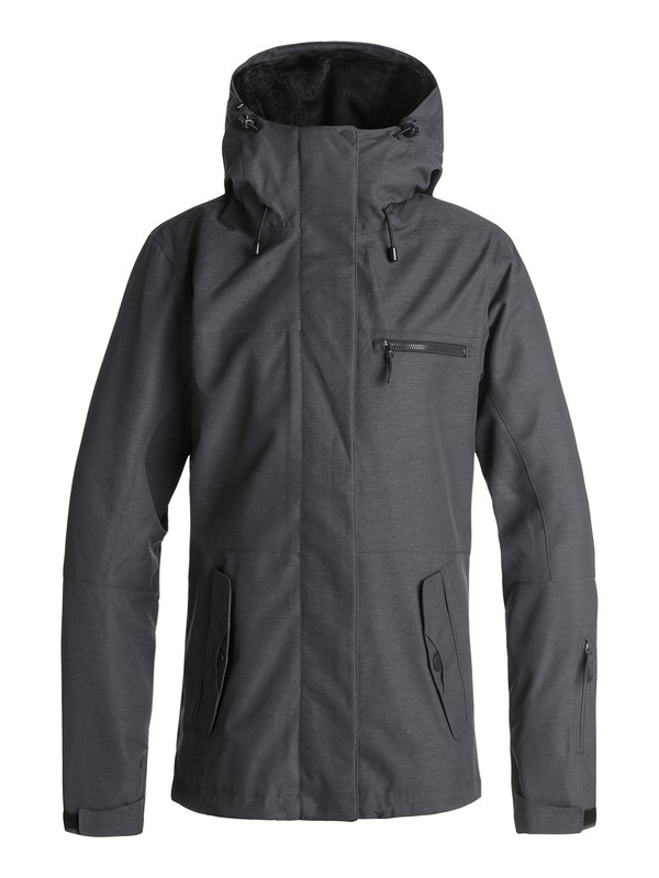0 ROXY Jetty 3N1 Snow Jacket Black ERJTJ03173 Roxy