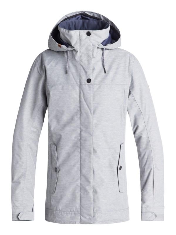 0 Billie - Snow Jacke für Frauen Grau ERJTJ03174 Roxy