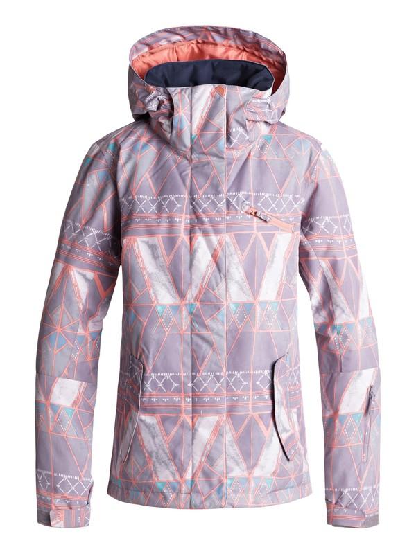 0 ROXY Jetty Snow Jacket Grey ERJTJ03175 Roxy