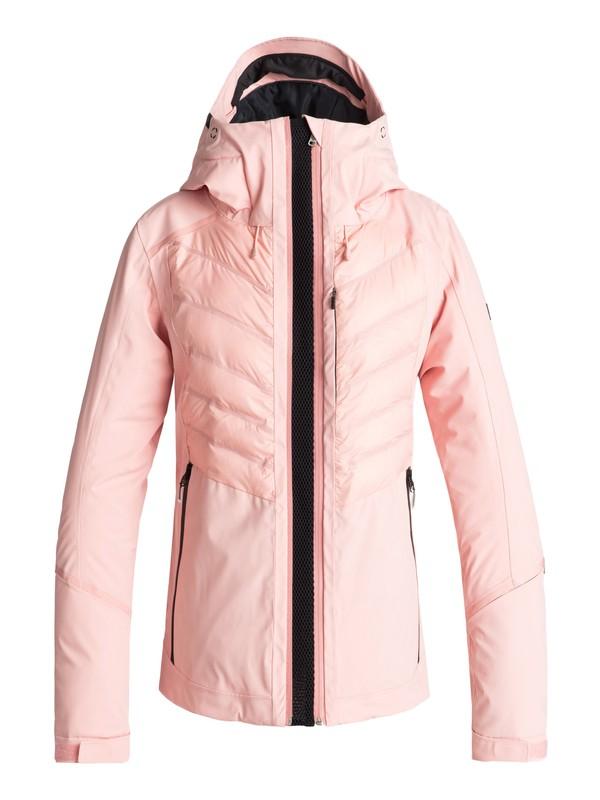 0 ROXY Premiere - Snow Jacket Pink ERJTJ03177 Roxy