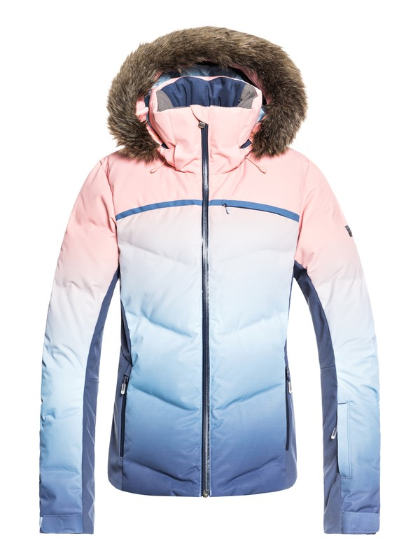 0 Snowstorm - Snow Jacket Blue ERJTJ03193 Roxy