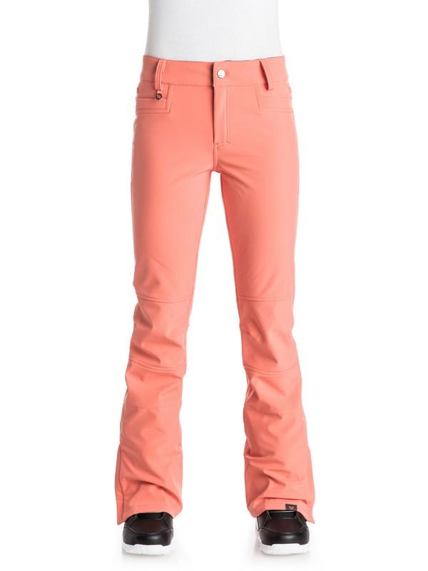 0 Creek - Snow Pants Pink ERJTP03020 Roxy