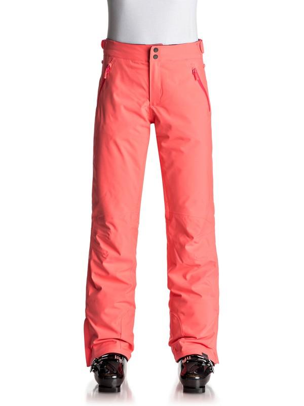 0 Montana - Snow Pants Orange ERJTP03040 Roxy
