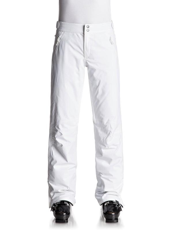 0 Montana - Pantaloni da snowboard White ERJTP03040 Roxy