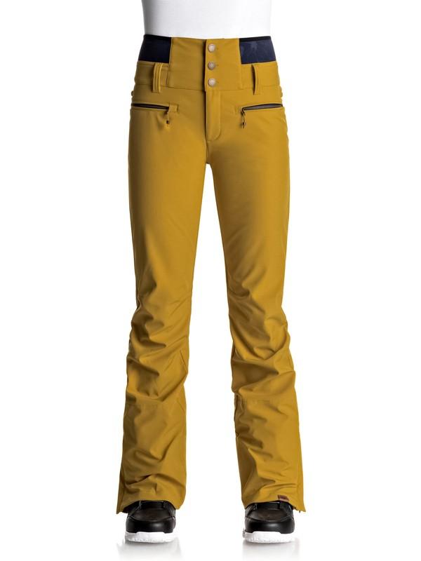 0 Torah Bright Rise Up - Pantalones Para Nieve para Mujer Amarillo ERJTP03043 Roxy