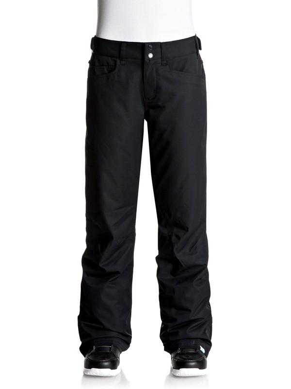 0 Backyard - Pantalones Para Nieve para Mujer Negro ERJTP03045 Roxy