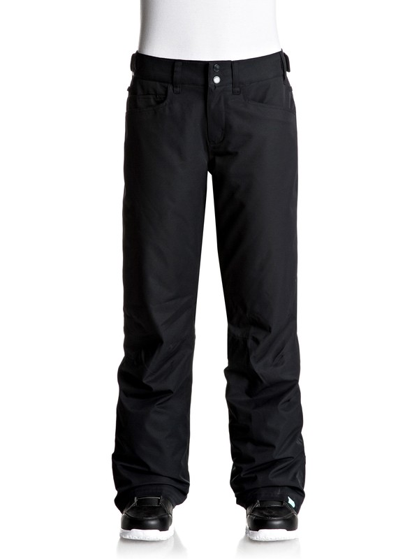 0 Backyard - Snow Pants Black ERJTP03045 Roxy