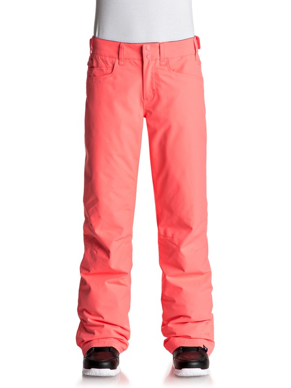 0 Backyard - Pantalon de snow pour Femme Orange ERJTP03045 Roxy