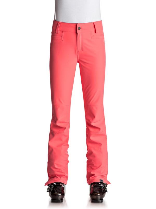 0 Creek - Pantalones Para Nieve para Mujer Naranja ERJTP03046 Roxy