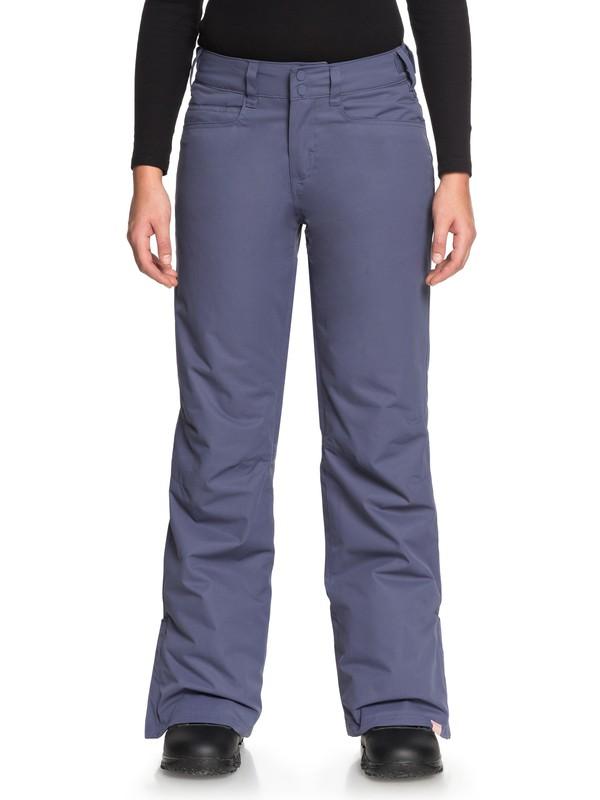 0 Backyard Snow Pants Blue ERJTP03056 Roxy