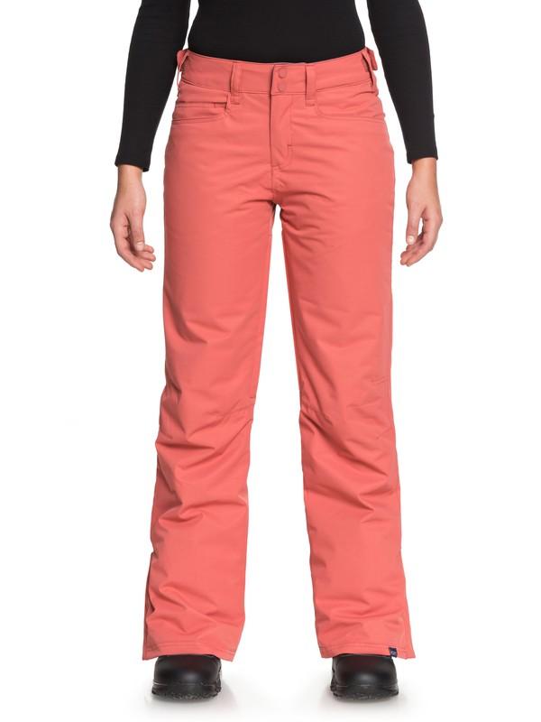 0 Backyard - Pantalones Para Nieve para Mujer Rosa ERJTP03056 Roxy