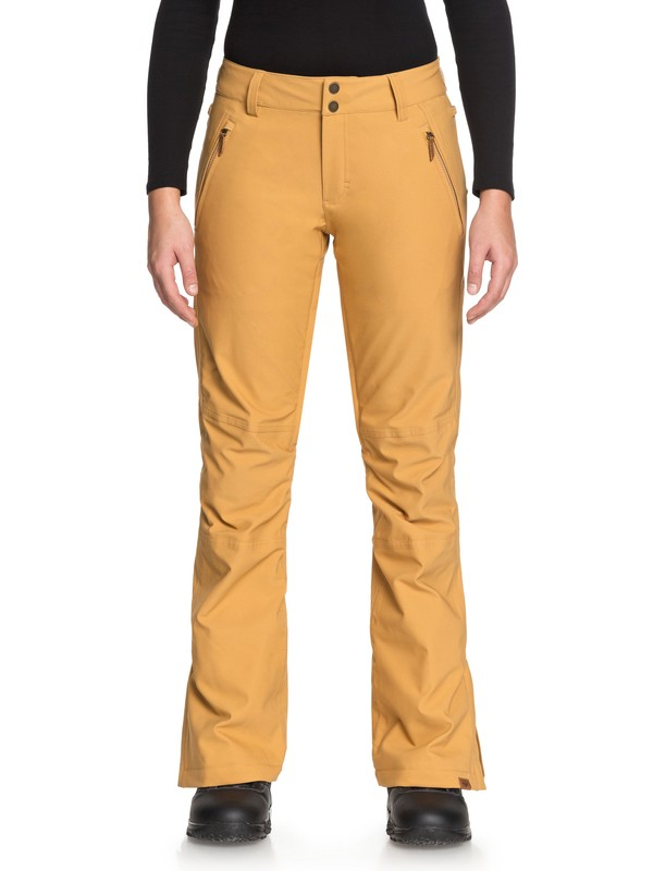 0 Cabin Snow Pants Brown ERJTP03061 Roxy